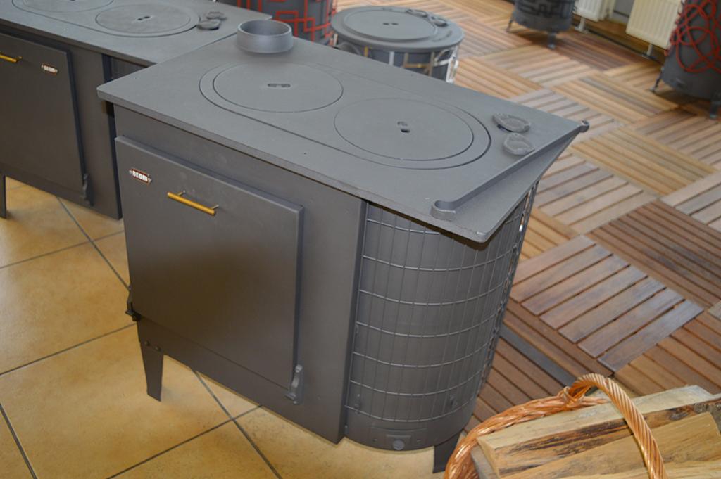 Cuisinières à bois modernes pour votre cuisine | Deom Turbo